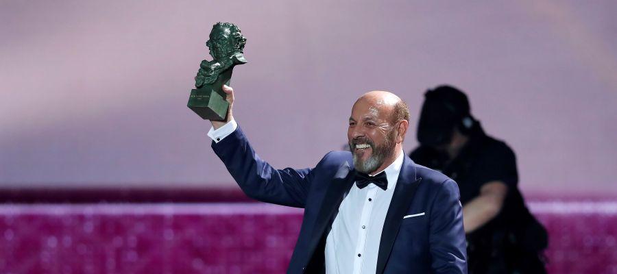 Javier Ruibal recibe el Goya a mejor canción original