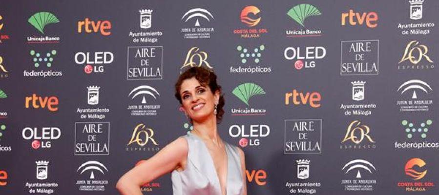 La actriz Ruth Gabriel a su llegada a la gala de entrega de los Premios Goya 2020