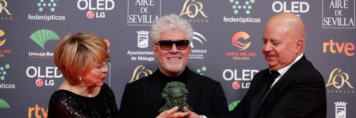 Pedro Almodóvar, gran triunfador de los Goya 2020 con 'Dolor y Gloria'