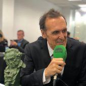 Alberto Iglesias, en los micrófonos de Onda Cero.