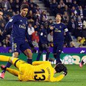 El portero del Real Madrid, Thibaut Courtois.