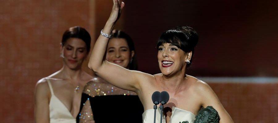 Belén Cuesta gana el Goya a mejor actriz 2020 por 'La trinchera infinita'