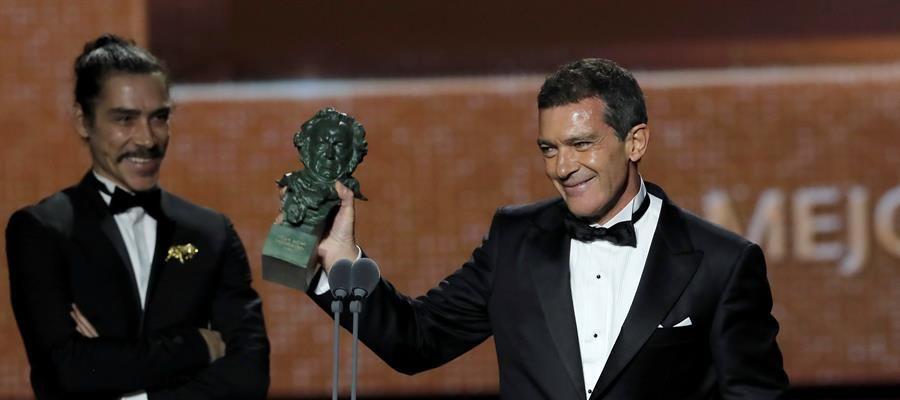 Antonio Banderas gana el Goya 2020 a mejor actor por 'Dolor y Gloria'