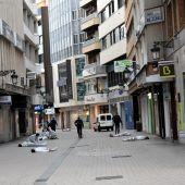 El simulacro ha tenido lugar en la calle General Aguilera