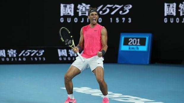 Rafa Nadal pasa a los cuartos de final del Open de Australia