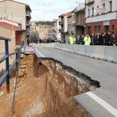 Daños de la borrasca Gloria en Alcañiz