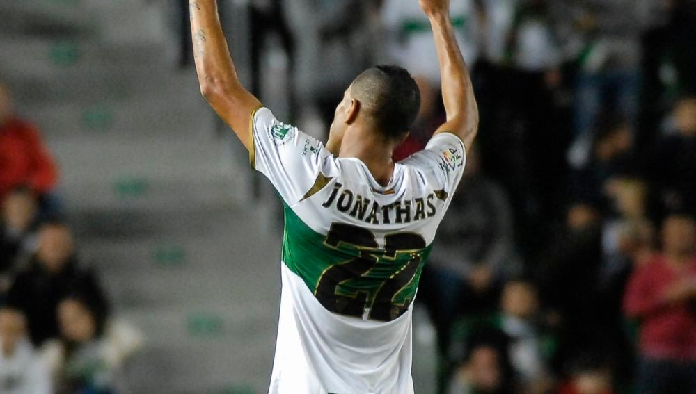 Jonathas de Jesus volverá a lucir el dorsal número 22 en su regreso al Elche CF.