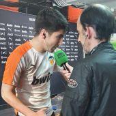 El jugador del Valencia, Carlos Soler, en Onda Cero