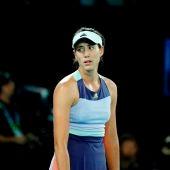 Garbiñe Muguruza, en la final del Open de Australia