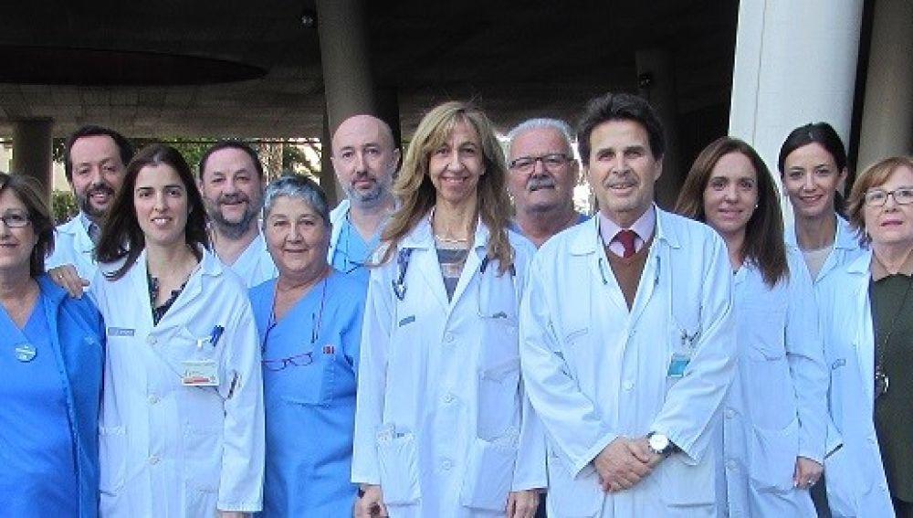 Equipo del unidad de Enfermedades Infecciosas del Hospital General Universitario de Elche.