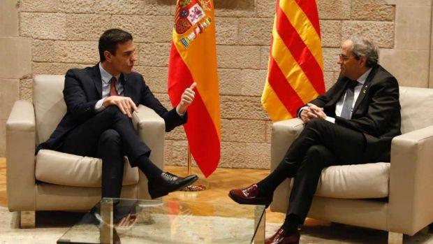Quim Torra rechaza en una carta reunirse con Sánchez el día 24 y propone 4 fechas alternativas