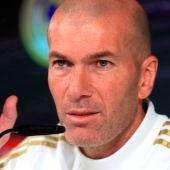 Rueda de prensa de Zidane antes del partido contra el Osasuna
