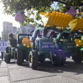 Manifestación de agricultores para conseguir mejoras