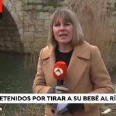 A3N Bebé arrojado al río en Husillos