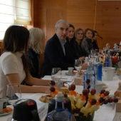 Conde na reunios coas mullers protagonistas da industria forestal en Galicia