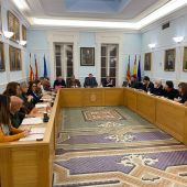 Pleno municipal del Ayuntamiento de Crevillent.