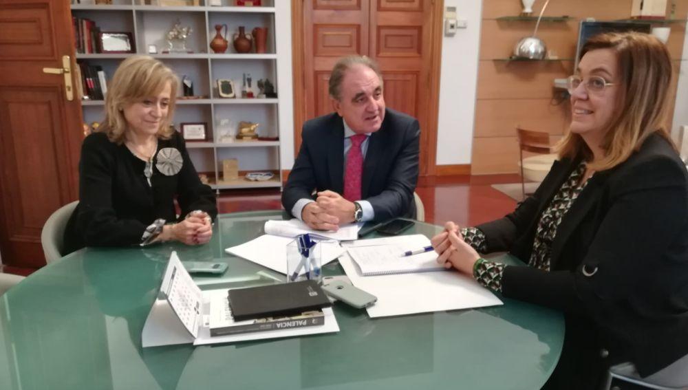 Diputación y Junta trabajan para facilitar el transporte a las guardias nocturnas en Aguilar de Campoo