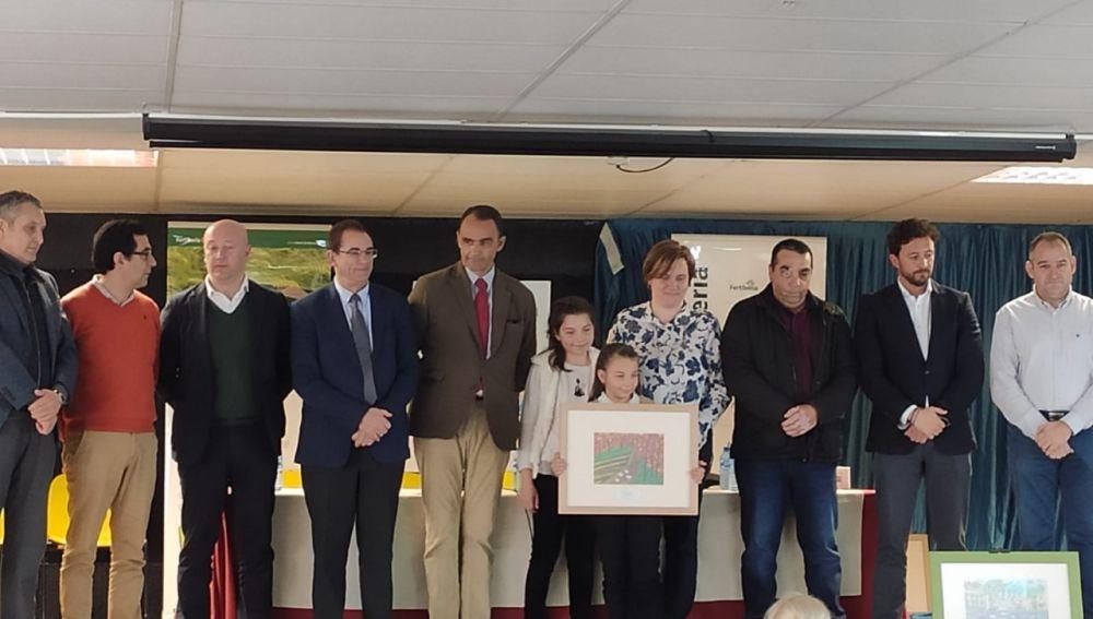 La paredeña Eva Pastor de Santiago obtiene el 2º premio  de Pintura Rural Infantil de FERTIBERIA