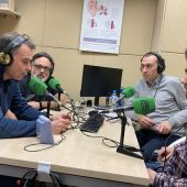 Javier Izu, Rafa Aguilera, Javier Saralegui, Aitor PLaza