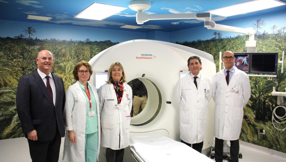 Nuevo TAC adquirido por el Hospital del Vinalopó de Elche.