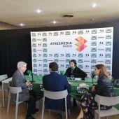 José Cruz, Herick Campos y Esther Guilabert en Caravaning 2020