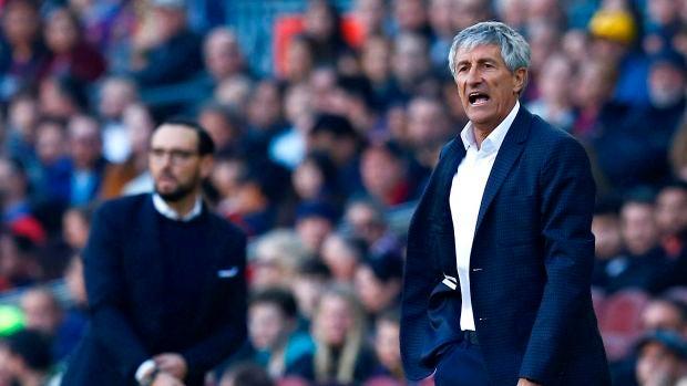 Quique Setién debutará a sus 61 años como entrenador en la Champions League