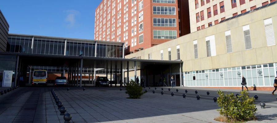 Vista del exterior del Hospital Río Carrión de Palencia
