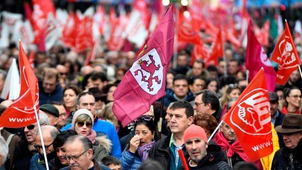"Manifestación histórica en León: ""Queremos realidades para la España olvidada"""