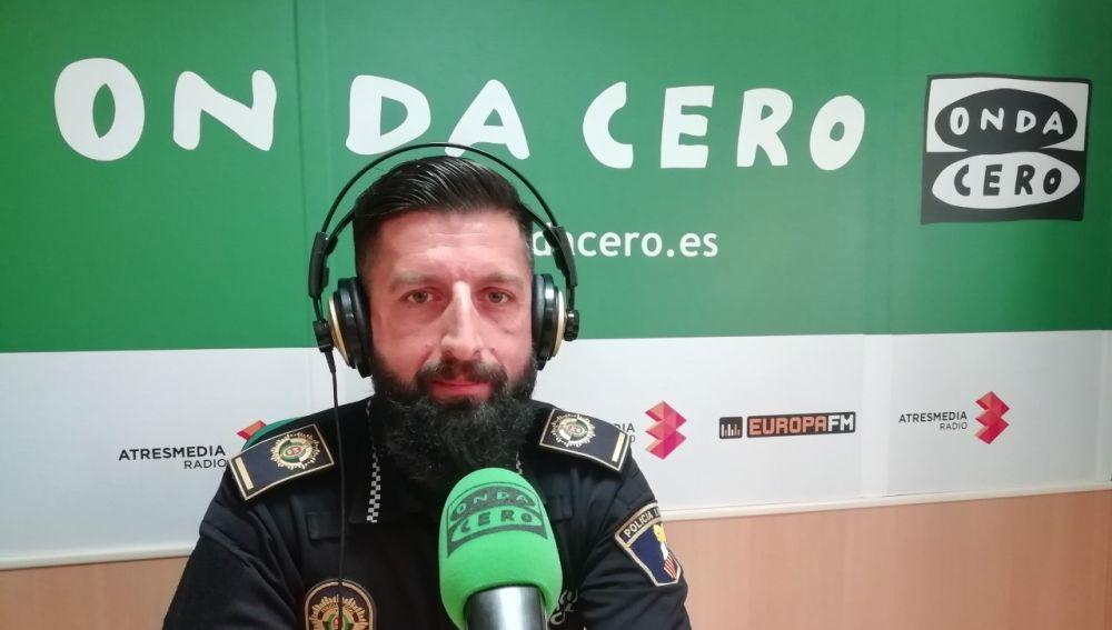 Roberto Santiago, jefe de la Unidad de Policía Judicial de Tráfico de la Policía Local de Elche.
