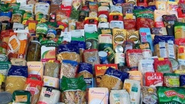Imagen de alimentos no perecederos, los más recomendables para este tipo de campañas