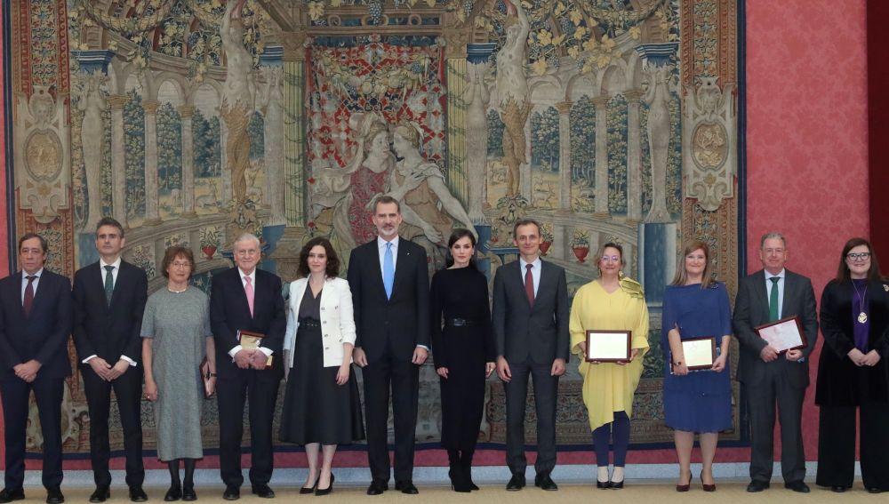 Acto entrega de los Premios Nacionales de Investigación 2019.