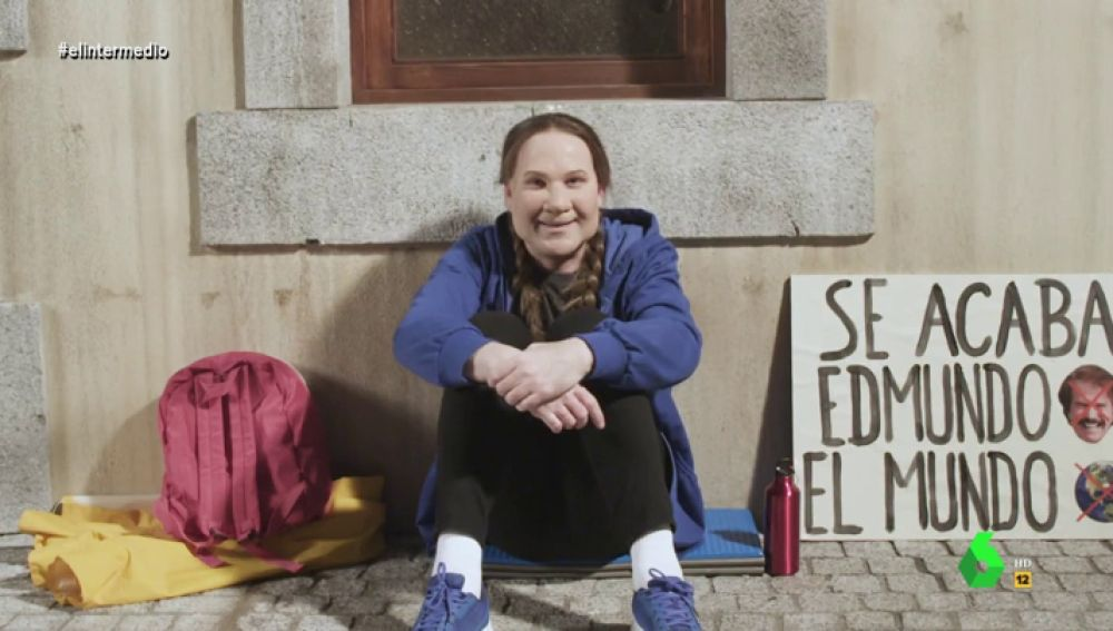Joaquín Reyes imita a Greta Thunberg