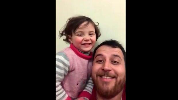 Selva y su padre Abdullah