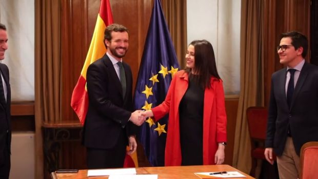 PP y Ciudadanos alcanzan un acuerdo para concurrir en coalición al País Vasco en las elecciones del 5 de abril