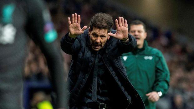 """Simeone: """"Una noche de las que no se olvidan, me voy tranquilo porque veo que cuando se trabaja, se puede"""""""