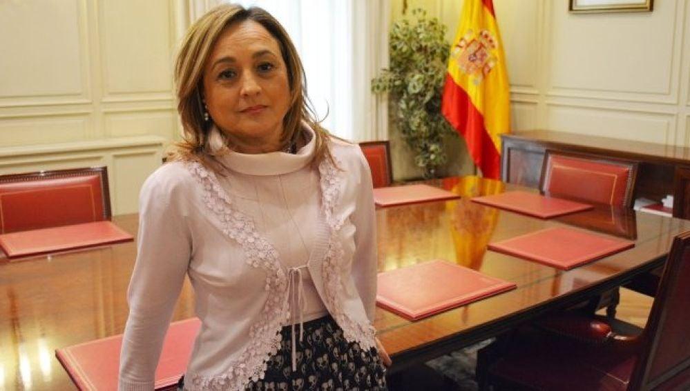 María Jesús Alarcón, presidenta de la Audiencia de Ciudad Real