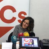 Eva Crisol,  portavoz de Ciudadanos Elche.