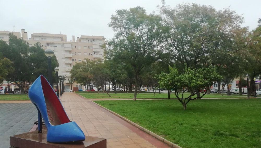 Parque 'Lolo Puntes' en el barrio El Toscar de Elche.