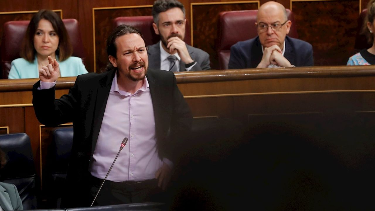 """Iglesias estalla contra PP y Vox: """"Tratar de sacar rédito político de niñas violadas es repugnante"""""""