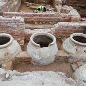 Excavación en la parcela del Astoria y Victoria