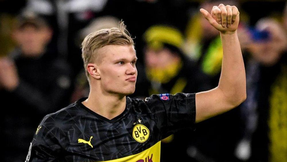 Haaland, la nueva sensación del Borussia Dortmund.