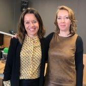 La directora de Diario de Mallorca, María Ferrer, en los estudios de Onda Cero Mallorca con motivo de los IX Premios Onda Cero Mallorca.