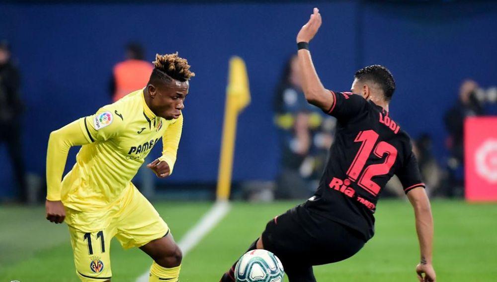 Chukwueze encara a Lodi en un Villarreal-Atlético