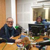 Jesús Vazquez nos estudios de Onda Cero Ourense