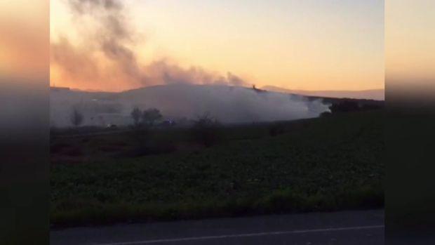 Se estrella una avioneta cerca del Aeropuerto de Pamplona