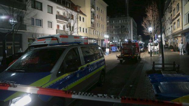 Al menos once muertos en dos ataques en bares en la ciudad alemana de Hanau
