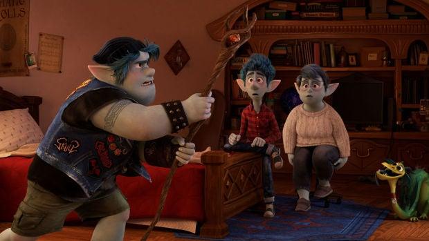 Fotograma de 'Onward', la nueva película de Pixar