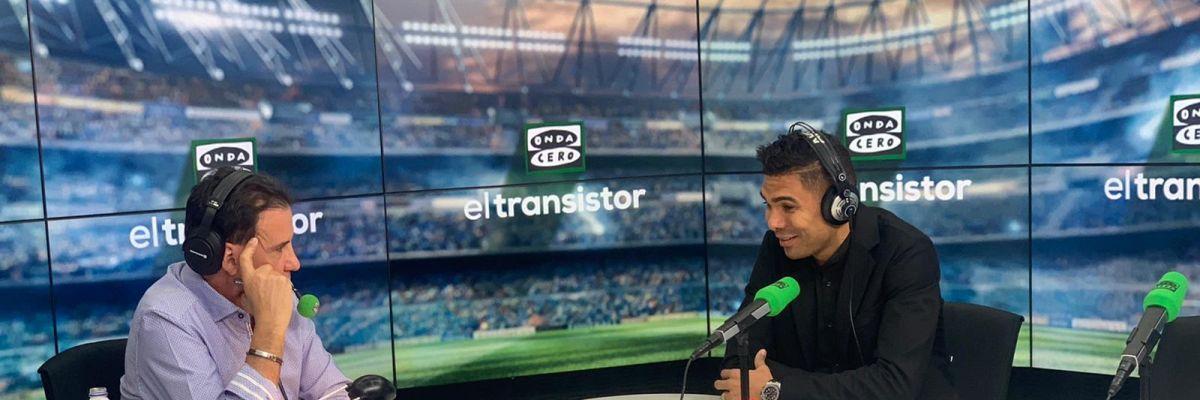 """Casemiro: """"Hablo con Neymar casi todos los días; lo quería en el Real Madrid"""""""