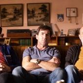 Raúl Arévalo, Antonio de la Torre y Chema del Barco en una imagen promocional de la película 'El plan'