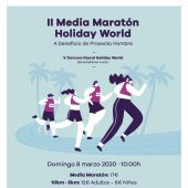 Cartel de la carrera Holiday World